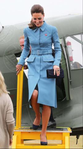 Kate Middleton - Cambridge - 11-04-2014 - Kate Middleton, più che un viaggio… una sfilata!
