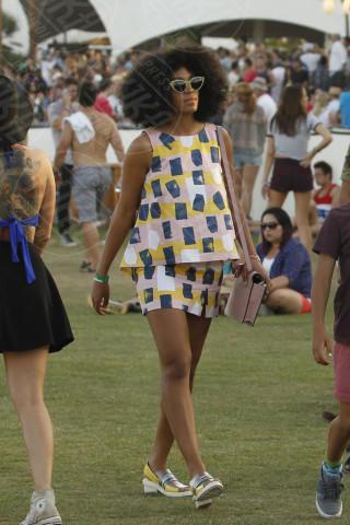 Solange Knowles - New York - 19-04-2014 - Tutte presenti all'appello nell'ora di geometria!