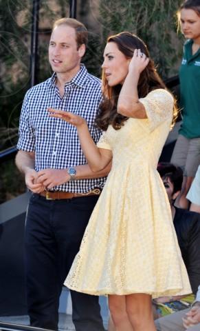 Principe William, Kate Middleton - Sydney - 20-04-2014 - Kate Middleton, più che un viaggio… una sfilata!