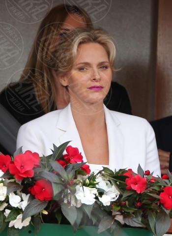 Principessa Charlene Wittstock - Monte Carlo - 20-04-2014 - Rolex Master Monte Carlo: la gara in doppio è sugli spalti