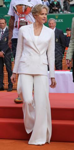 Principessa Charlene Wittstock - Monte Carlo - 20-04-2014 - Letizia, Rania, Mathilde, Charlene, Maxima: regine di stile