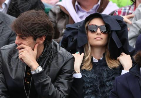 Caroline Celico, Kaká - Monte Carlo - 20-04-2014 - Rolex Master Monte Carlo: la gara in doppio è sugli spalti