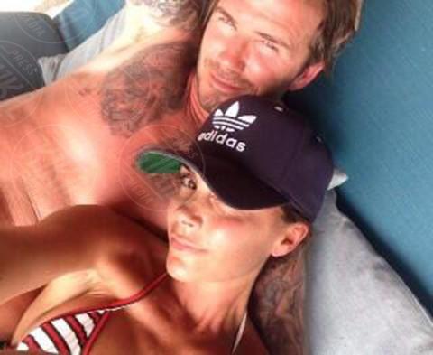 David Beckham, Victoria Beckham - 23-04-2014 - Spice reunion al party per i 40 anni di Victoria Beckham