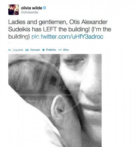 Otis Alexander Sudeikis, Olivia Wilde - Los Angeles - 18-04-2015 - Childbirth-selfie: un altro tipo di autoscatto contagia i vip