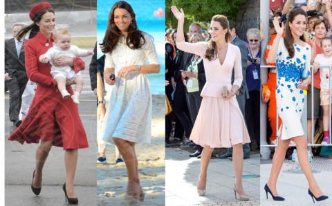 Kate Middleton - 24-04-2014 - Kate Middleton, più che un viaggio… una sfilata!