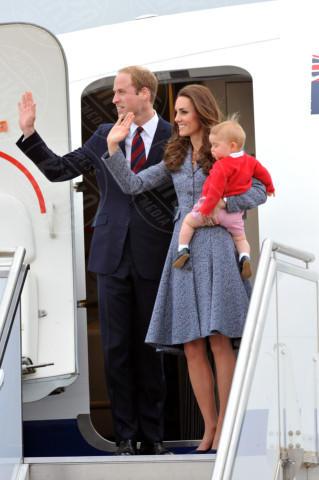 Principe George, Principe William, Kate Middleton - Canberra - 25-04-2014 - Kate Middleton, la principessa che non fa una piega…