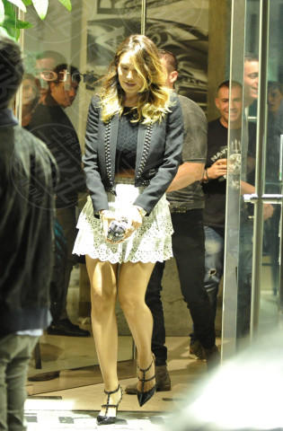 Claudio D'Alessio, Nicole Minetti - Roma - 26-04-2014 - Lo streetstyle è più malizioso con una minigonna