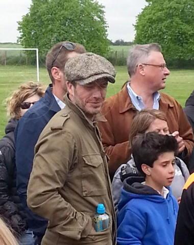David Beckham - Londra - 27-04-2014 - Star come noi:David Beckham emozionato alla premiazione di Cruz