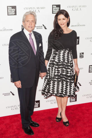 Catherine Zeta Jones, Michael Douglas - New York - 28-04-2014 - Cruz-Bardem & co: gli amori più romantici dello showbiz