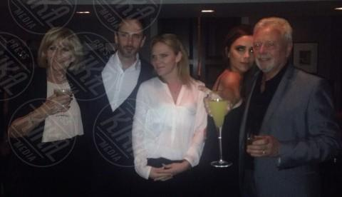 Christian Flood, Louise Flood, Jackie Adams, Tony Adams, Victoria Beckham - Londra - 27-04-2014 - Spice reunion al party per i 40 anni di Victoria Beckham