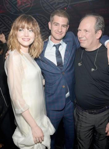 Emma Stone, Andrew Garfield - Londra - 27-04-2014 - Spice reunion al party per i 40 anni di Victoria Beckham