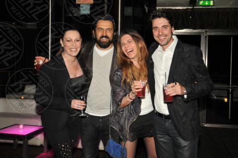 Andrea Morri, Omar Pedrini, Sara Ventura - Milano - 28-04-2014 - Tanti VIP alla serata di compleanno di Antonio Vandoni