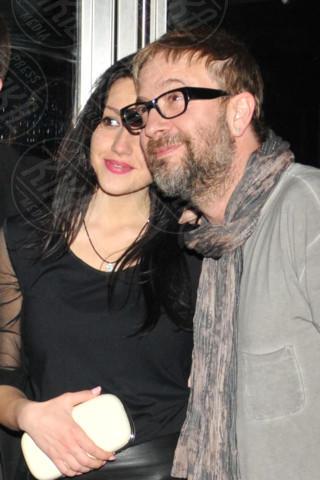 Marco Masini, fidanzata - Milano - 28-04-2014 - Tanti VIP alla serata di compleanno di Antonio Vandoni