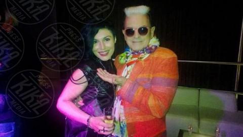 Giusy Ferreri, Cristiano Malgioglio - Milano - 28-04-2014 - Tanti VIP alla serata di compleanno di Antonio Vandoni