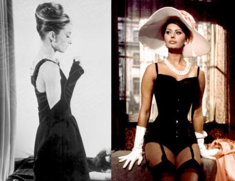 Audrey Hepburn, Sophia Loren - 30-04-2014 - Piatte o maggiorate: chi vince nell'eterna sfida?