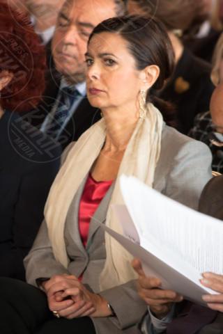 Laura Boldrini - Roma - 01-05-2014 - Sgarbi dà della capra alla Boldrini: