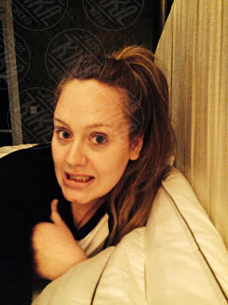 Adele - 05-05-2014 - Prima e dopo: il miracolo del make up!