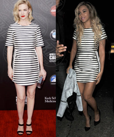 January Jones, Beyonce Knowles - 05-05-2014 - Kelly Osbourne e January Jones: chi lo indossa meglio?