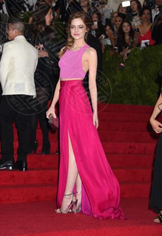 Emma Stone - New York - 05-05-2014 - Emma Stone ha già vinto l'Oscar dell'eleganza!