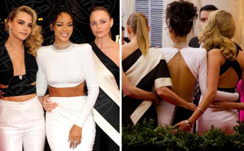 Cara Delevingne, Rihanna - New York - 06-05-2014 - Palpatine hot, scopri chi allunga le mani