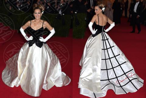 Sarah Jessica Parker - New York - 06-05-2014 - MET Gala: bianco e nero, un classico sul tappeto rosso