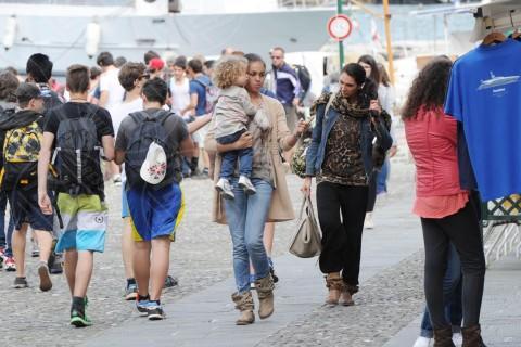 Sofia Aida Risso, Ruby Rubacuori - Portofino - 07-05-2014 - Ruby: dal bunga bunga a mamma modello