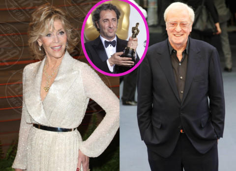 Michael Caine, Jane Fonda, Paolo Sorrentino - 07-05-2014 - Paolo Sorrentino arruola Jane Fonda e Michael Caine per Youth