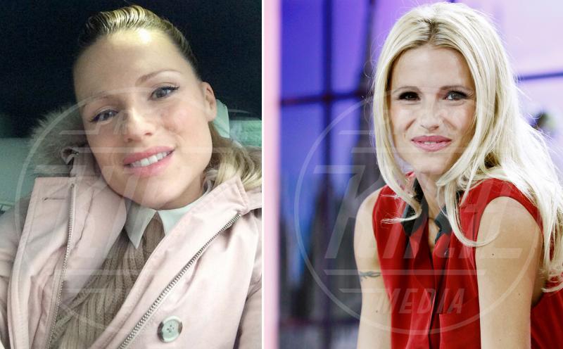 Michelle Hunziker - Milano - 21-09-2012 - Sexy anche senza un filo di trucco? Giudicate voi