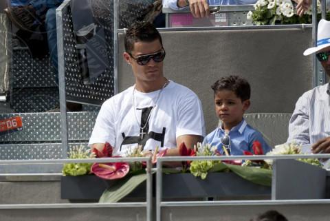 Cristiano Ronaldo jr., Cristiano Ronaldo - Madrid - 08-05-2014 - Cristiano Ronaldo, secondo figlio da madre surrogata?