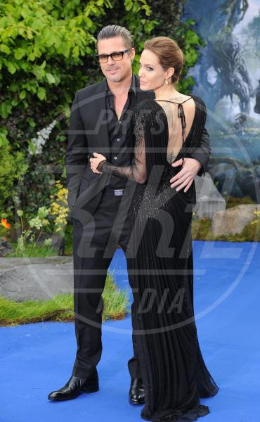 Angelina Jolie, Brad Pitt - Londra - 08-05-2014 - Brad Pitt: