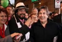 Fabrizio Del Noce - il sosia di Luciano Pavarotti - Sanremo - 27-02-2007 - E' morto il tenore Luciano Pavarotti