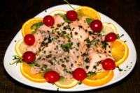 Carpaccio di salmone, Alda D'Eusanio - 12-05-2014 - D'Eusanio: ecco i piatti per conquistare un uomo a tavola