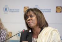 Ertharin Cousin - Roma - 14-05-2014 - Franca Sozzani ambasciatrice WFP contro la fame nel mondo