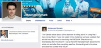 Johannes Nymark - 14-05-2014 - Facebook:  offline in tutto il mondo per pochi minuti