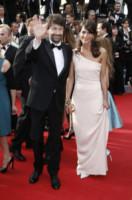 Michela Di Biase, Dario Franceschini - Cannes - 14-05-2014 - Sul red carpet come una dea: il ritorno del monospalla