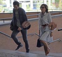 Gianluigi Buffon, Alena Seredova - Torino - 14-05-2014 - Gigi Buffon e Alena Seredova in tribunale per la separazione