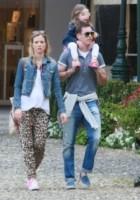 Kim Lichtsteiner, Manuela Markworth, Stephan Lichtsteiner - Portofino - 14-05-2014 - Giù dai tacchi: le Star preferiscono le All Star!