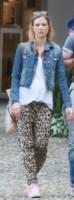 Kim Lichtsteiner, Manuela Markworth, Stephan Lichtsteiner - Portofino - 14-05-2014 - Un classico che ritorna: il giubbotto di jeans