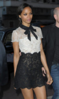 Zoe Saldana - Cannes - 15-05-2014 - Chi lo indossa meglio: Mel B o Zoe Saldana?