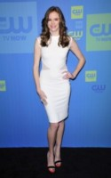 Danielle Panabaker - New York - 15-05-2014 - Non solo LBD: oggi il tubino è anche bianco!