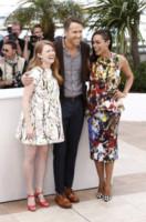 Mireille Enos, Ryan Reynolds, Rosario Dawson - Cannes - 16-05-2014 - Cannes 2014: Rosario Dawson e Ryan Reynolds presentano Captives
