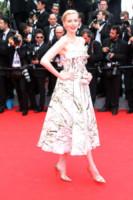 Nadja Auermann - Cannes - 14-05-2014 - Mini o longuette, ma pieno di fiori: è l'abito della primavera!