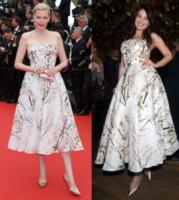 Nadja Auermann, Daisy Lowe - 16-05-2014 - Nadja Auermann e Daisy Lowe: chi lo indossa meglio?