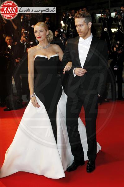 Blake Lively, Ryan Reynolds - Cannes - 16-05-2014 - Blake Lively: dal giorno alla sera, vince l'eleganza