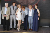 Liam Hemsworth, Jennifer Lawrence, Sam Claflin, Donald Sutherland, Julianne Moore - Cannes - 17-05-2014 - Cannes 2014: il photocall di Hunger Games
