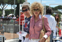 Imma Battaglia, Eva Grimaldi - Roma - 17-05-2014 - Imma Battaglia, la proposta di nozze da applausi a Eva Grimaldi