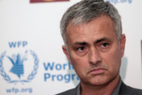José Mourinho - Londra - 19-05-2014 - José Mourinho scende in campo contro la fame nel mondo