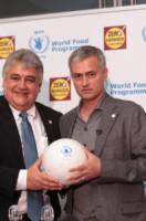 Amir Abdulla, José Mourinho - Londra - 19-05-2014 - José Mourinho scende in campo contro la fame nel mondo