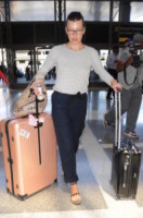 Milla Jovovich - Los Angeles - 20-05-2014 - Fashion Week o viaggio di piacere, i travel outfit delle star