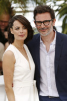Michel Hazanavicius, Berenice Bejo - Cannes - 21-05-2014 - Cannes 2014: Hazanavicius un polpo al photocall di The Search